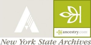 New York State Archives Ancestry.com logo