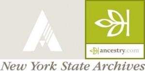 New York State Archives Ancestry.com logo