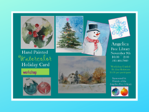 Holiday Card Watercolor Class