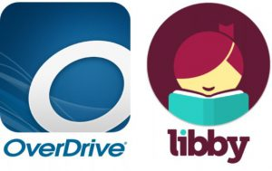 OverDrive and Libby app logos