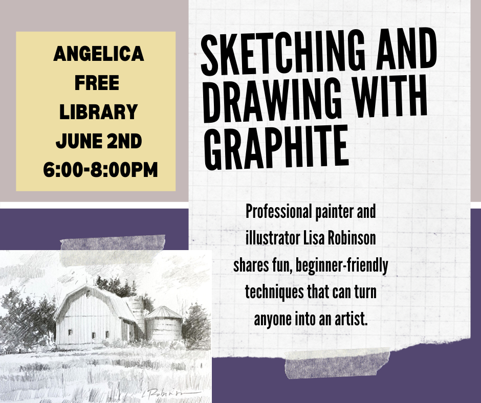 Sketching and Drawing with Graphite