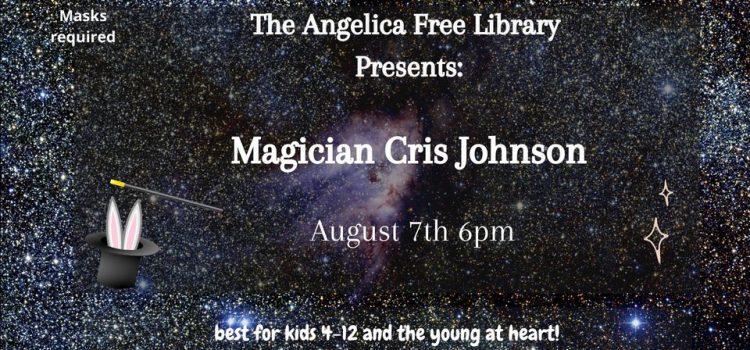 Magician Cris Johnson